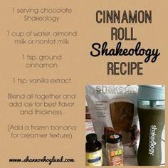 Shannon Hoglund: Cinnamon Roll #Shakeology Recipe. www.shannonhoglund.com