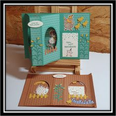 Fancy Fold Cards, Folded Cards, 3d Cards, Stampin Up Cards, Window Cards, Little Birdie, Inspirational Artwork, Card Tutorials, Tampons