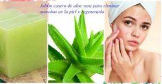 Cómo hacer jabón de aloe vera para eliminar manchas en la cara