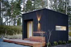 My Shed Plans - minimaliste design dabri - Now You Can Build ANY Shed In A Weekend Even If You've Zero Woodworking Experience! Backyard Studio, Backyard Sheds, Garden Studio, Backyard Retreat, Garden Sheds, Backyard Buildings, Small Buildings, Generator Shed, Cool Sheds