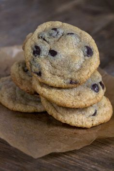 Gluten Free Soft Batch Chocolate Chip Cookies - Gluten-Free on a Shoestring