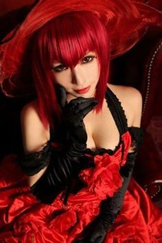 Madame Red- Black Butler Cosplay
