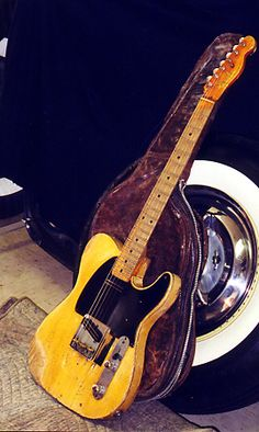 1953 Fender Telecaster guitar - owned by Danny Gatton