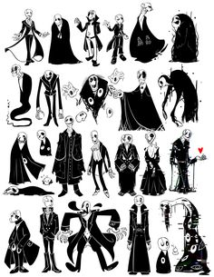 Gaster+Designs+(UNDERTALE+SPOILERS?)+by+WHATiFGirl.deviantart.com+on+@DeviantArt