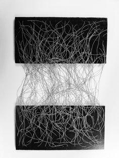 EVA HESSE http://www.widewalls.ch/artist/eva-hesse/ #contemporary #art #installation