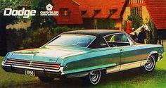 1968 Dodge Monaco - Promotional Advertising Poster