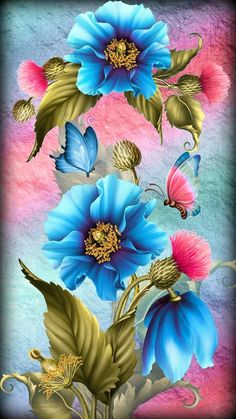 Pin by Vishal Kumar on Beautiful flowers wallpapers in 2019 Flower Background Wallpaper, Flower Phone Wallpaper, Butterfly Wallpaper, Cellphone Wallpaper, Flower Backgrounds, Colorful Wallpaper, Wallpaper Backgrounds, Mobile Wallpaper, Phone Wallpapers