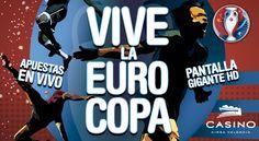 Vive la EUROCOPA 2016 en Casino Cirsa Valencia - http://www.valenciablog.com/vive-la-eurocopa-2016-en-casino-cirsa-valencia/