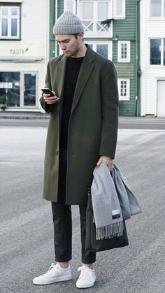 89 Cool Modest Winter Outfits For Men Street Style # Man Street Style, Simple Street Style, Men Street, Street Smart, Modest Winter Outfits, Casual Winter Outfits, Men Casual, Casual Menswear, Dress Casual