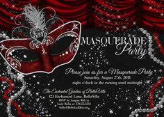 Masquerade Invitations Template Photoshop Google Search - Party invitation template: masquerade party invitation template