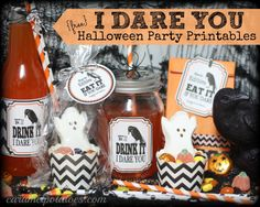 I DARE YOU - {free} fabulous printables for a Spooktacular Halloween!