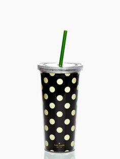 Kate Spade Tumbler: Keeping hydrated during long lectures.