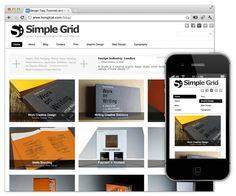 Simple Grid http://www.dessign.net/zipthemes/simplegridtheme.zip