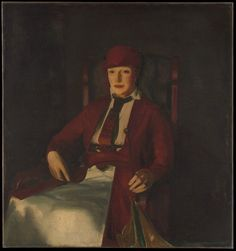 Mrs. Chester Dale by George Bellows, Modern and Contemporary Art Medium: Oil on canvas