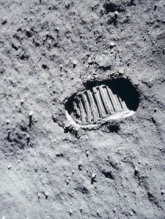 Credit: © NASA / Planetary Visions The moon: Buzz Aldrin's bootprintNASA spent $20bn on sending men to the Moon – trillions of dollars in today's money. But the American space agency missed the biggest photo opportunity of all time: there is no photograph of the first man on the moon, Neil Armstrong. The second man, Buzz Aldrin, failed to take one