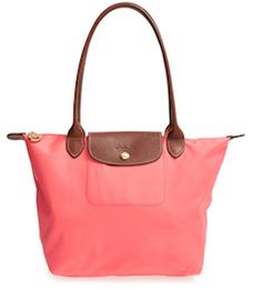 Coral longchamp purse http://rstyle.me/n/wwtm2bna57