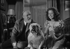 Shirley Temple with Monty Wooley in Since You Went Away (1944)