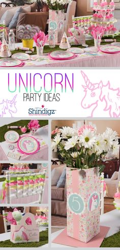 Create a fantastical party atmosphere with unicorn party supplies that will transport everyone to a world beyond imagination. Explore all our girl birthday party ideas & save 10% promo code SZPINIT until 12/31/19 11:59 PM EST.