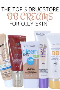 The best DRUGSTORE BB creams for oily or acne-prone skin 2017 #facecreamsdrugstore