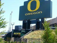 Eugene Oregon - GO DUCKS!!!!!