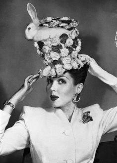 Nice Easter bonnet, Ann Miller!