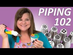 Cake Decorating 102 (Russian Piping Tips, Tools and Tips) Filmed LIVE - YouTube