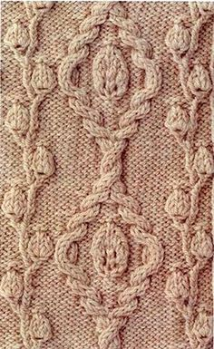 Botanica pattern | Cool knitting pattern with chart