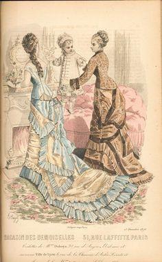December 1876 fashion plate