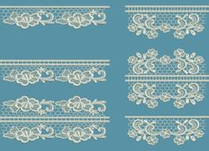 TS762 - Tuscany Lace Edgings 12