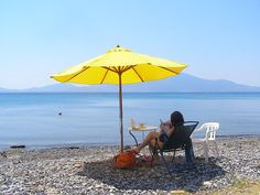 Holiday Beach Resort - Greece: Beach Cottage, Evia, Greece Special Offer in Beach Cottage, 1-15 June 2012 Would you like a break in the beginning of the summer? Enjoy sun ,sea and garden, in our beach cottage for only 490 euros p/w, 1 - 15 June 2012. If you book the whole period, 1 - 15, then you pay 900 euros instead of 980. The cottage sleeps up to 10 people, using the sofa bed. Plus one cot. Book now, time runs!