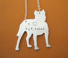 Love Pittie necklace
