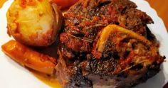 Vrabioara de Vitel la Cuptor Steak, Pork, Kale Stir Fry, Steaks, Pork Chops
