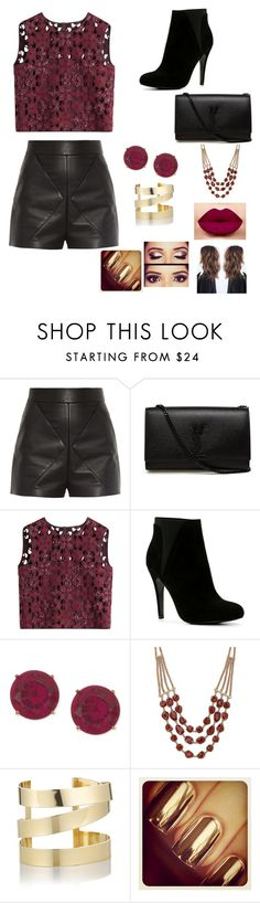 """Untitled #19"" by gaellegermainlynn ❤ liked on Polyvore featuring Balenciaga, Yves Saint Laurent, Alberta Ferretti, ALDO, Anne Klein, Lucky Brand and Étoile Isabel Marant"
