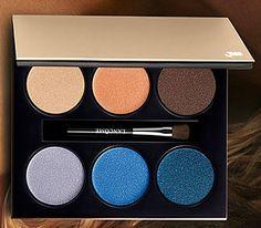 тени палетка Ланком лето 2015 - Lancome French Paradise Summer 2015 Makeup Collection