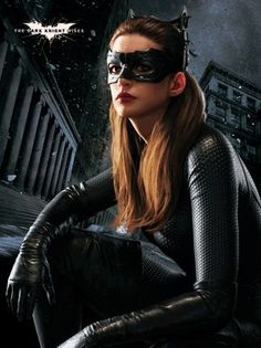 Anne as Catwoman in TDKR-particularly great picture of her!!