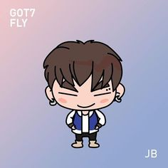 Counting down to GOT7 fly in SG, finally finished with the new gotoon fanarts. ^^ #got7 #jb #got7jb #got7fly #gotoon #재범 #갓세븐
