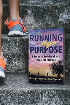 What if you could improve your health while deepening your faith life? In Running for a Higher Purpose, Bishop Thomas John Paprocki, a marathon runner and hockey player, shares how the simple discipline of running can help you unlock profound spiritual gifts. Whether you just starting to run or you are already an avid runner looking for a new challenge, Paprocki offers eight steps to help you reach both your spiritual and physical fitness goals. Catholic Bishops, Catholic Books, Spiritual Wellness, Spiritual Gifts, How To Start Running, Up And Running, First Marathon, Types Of Books, Marathon Runners