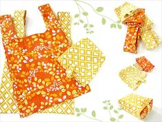 Foldaway Shopping Bags with Carrying Case | Sew4Home