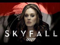 "Popular British artist Adele singing in James Bond ""Skyfall"" Movie Trailer HD 2012."