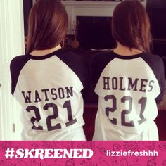 @Liz Mester Swezey and her mom are the best sherlock and watson duo we ever did see! #sherlock #tvshow