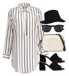 Sin título #12711 by vany-alvarado on Polyvore featuring polyvore, moda, style, Maryam Nassir Zadeh, Gucci, Topshop, Yves Saint Laurent, fashion and clothing