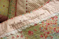 cute quilt finish.....love by Kimara