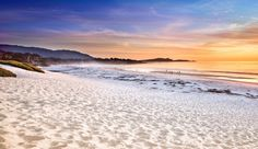 La Playa Carmel: Carmel Beach is one of California's most cherished � and within walking distance of the hotel.    #Jetsetter #JSSunrise