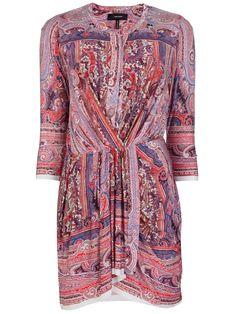 ISABEL MARANT, paisley print dress