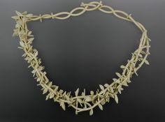 Adamson-Debbie-Twisted Vines Necklace     $675Rubber-2013