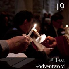 #AdventWord #Heal || In a world torn apart by anger, hatred and conflict, we have the privilege to be living signs of a love that can bridge all divisions and heal all wounds. Br. David Vryhof |||| @SSJEWord: Post prayerful images with the #adventword hashtag to create a Global Advent Calendar. Check out www.aco.org/adventword.cfm.
