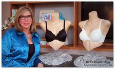 QVC Fashionably Early  GO2BRAS founder Connie Elder  2011