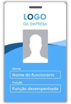 Modelo de crachá 13 Identity Card Design, Brochure Design, Id Card Template, Card Templates, Login Page Design, Employee Id Card, Visiting Card Design, Name Card Design, Star Wars Games