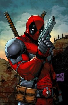 #Deadpool #Fan #Art. (Deadpool) By: Hanzozuken. (THE * 5 * STÅR * ÅWARD * OF: * AW YEAH, IT'S MAJOR ÅWESOMENESS!!!™) [THANK U 4 PINNING!!!<·><]<©>ÅÅÅ+(OB4E)