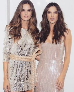 Izabel Goulart and Alessandra Ambrosio October 2018 Izabel Goulart, Alessandra Ambrosio, Victoria Secret, Beautiful Women, Models, Couture, Lace, Womens Fashion, October